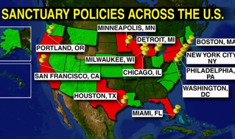 Sanctuary cities to lose funding by executive order