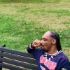 Snoop Dogg smokes weed, says f*ck the President