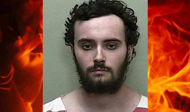 Florida man shoots mother, dog, sets house on fire