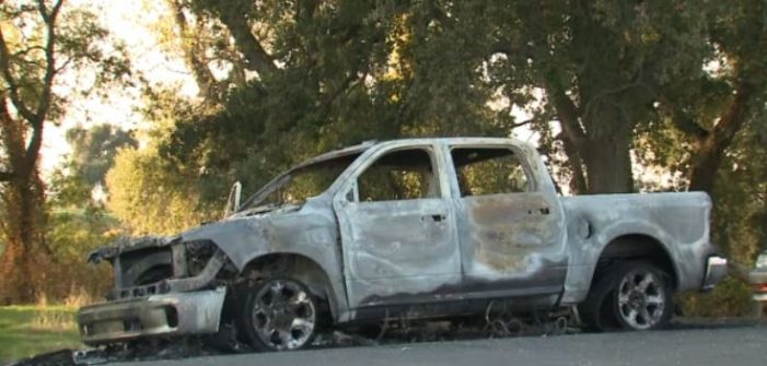 Trump supporter targeted by arsonist, truck burned