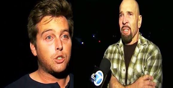 Gut-wrenching video: Stepdad, son describe Thousand Oaks mass shooting