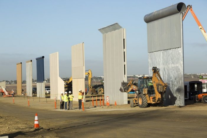 """Build the Wall"" slogan now reality, liberals have a meltdown"