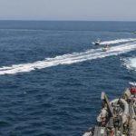 trump says shoot iranian boats, iran, navy, daily lash