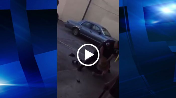 Video shows officer knee compliant man in face for cursing in public