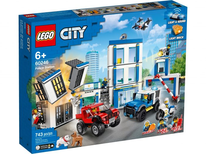 LEGO pulls back advertising on police-related LEGO sets