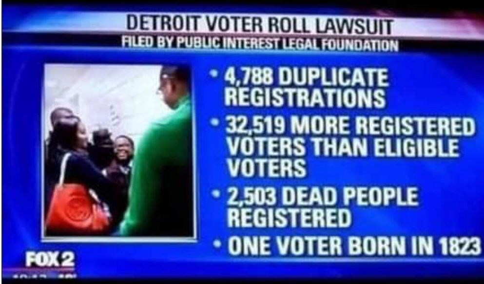 voter fraud detroit, dead people voting, the daily lash