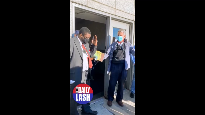 Video shows Detroit poll workers keeping Republicans out, black poll worker mocks them
