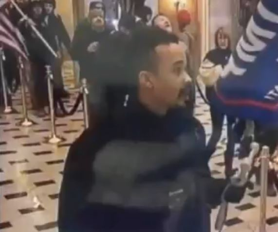 VIDEO: FBI confirms BLM activist was inside Capitol, no charges filed
